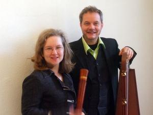 Flötenduo Anja Detmer und Thomas Siener