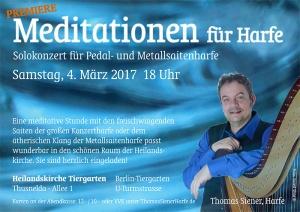 Meditationen, Konzert in der Heilandskirche mit Thomas Siener