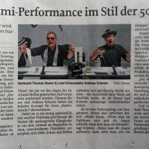 Harfemörder, Mittelbayrische Zeitung Regensburg, 2016 Kritik